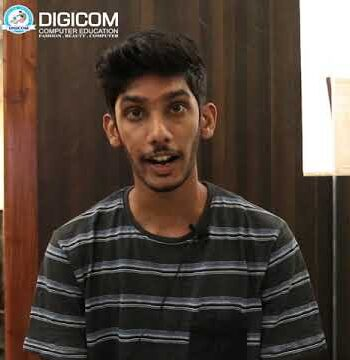 Keeth from Quepem shares his experience with Digicom Computer Education Margao