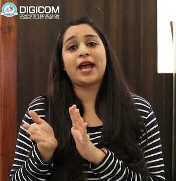 Uzma Shaikh from Navelim shared her beauty and fashion training at Digicom Computer Education